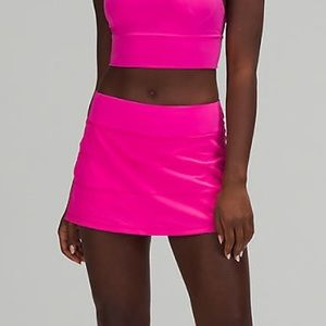 🔥 NWT Lululemon Pace Rival Skirt - Sonic Pink 8